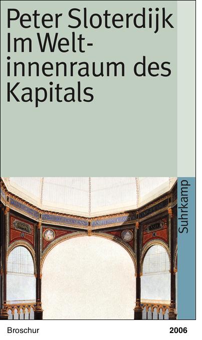 Im Weltinnenraum des Kapitals - Peter Sloterdijk