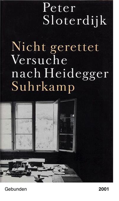 Nicht gerettet - Versuche nach Heidegger