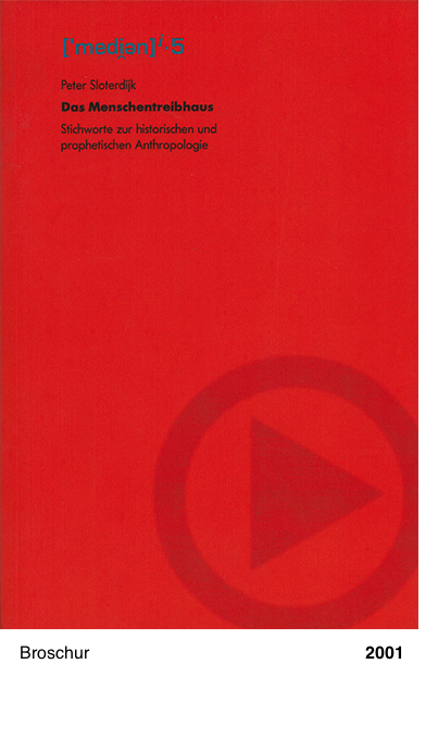 Das Menschentreibhaus - Peter Sloterdijk