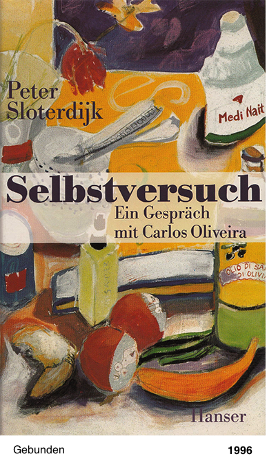Selbstversuch - Peter Sloterdijk - Carlos Oliveira