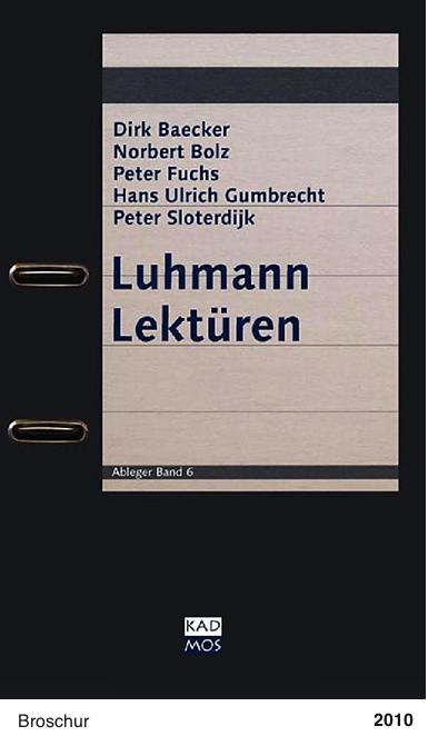 Luhmann Lektüren