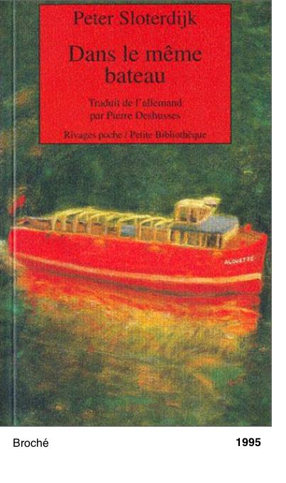 Dans le meme bateau - Peter Sloterdijk