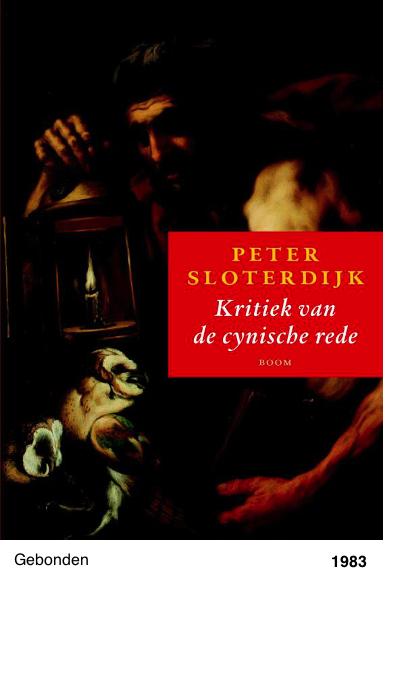 Kritiek van de cynische rede - Peter Sloterdijk