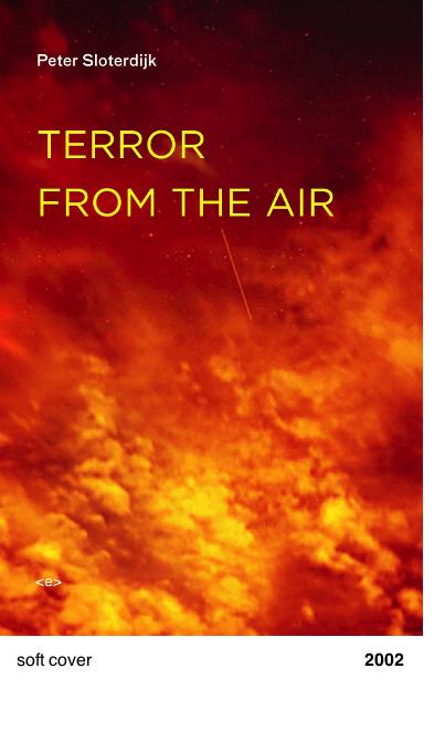 Terror from the air - Peter Sloterdijk