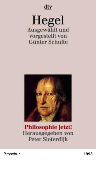 Philosophie jetzt!: Hegel