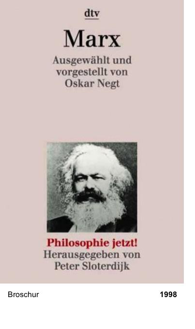 Philosophie jetzt!: Marx