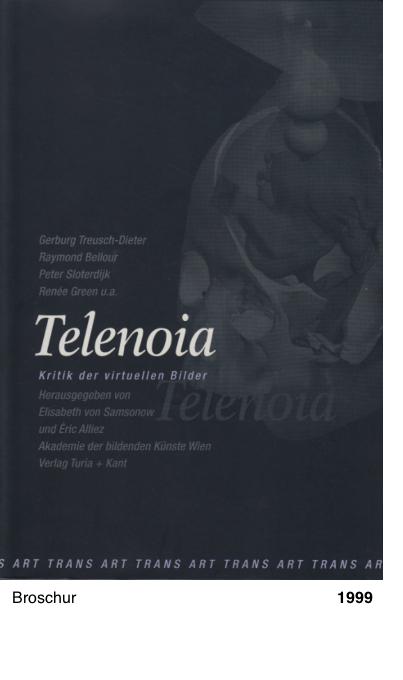Telenoia. Kritik der virtuellen Bilder