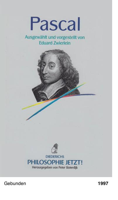 Philosophie jetzt!: Pascal
