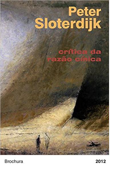 Crítica da Razão Cínica - Peter Sloterdijk