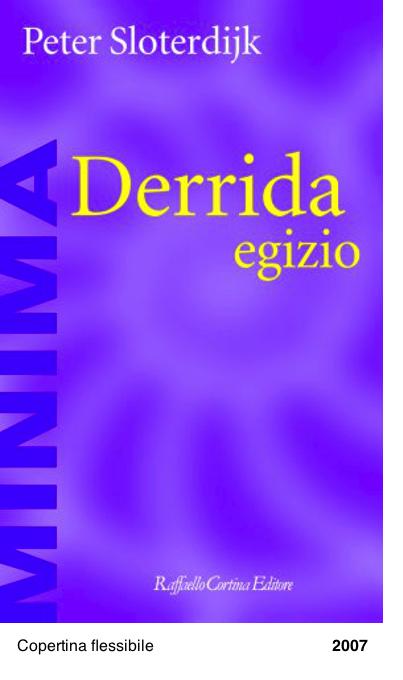 Derrida egizio - Il problema della piramide ebraica - Peter Sloterdijk