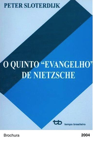 O Quinto Evangelho de Nietzsche - Peter Sloterdijk