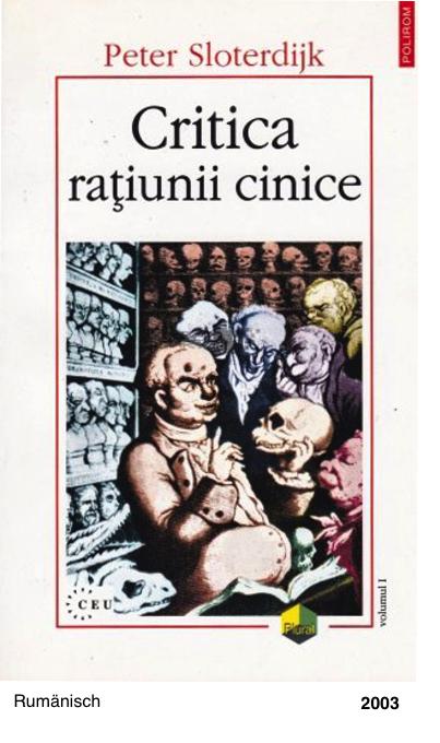 Critica ratiunii cinice - Peter Sloterdijk