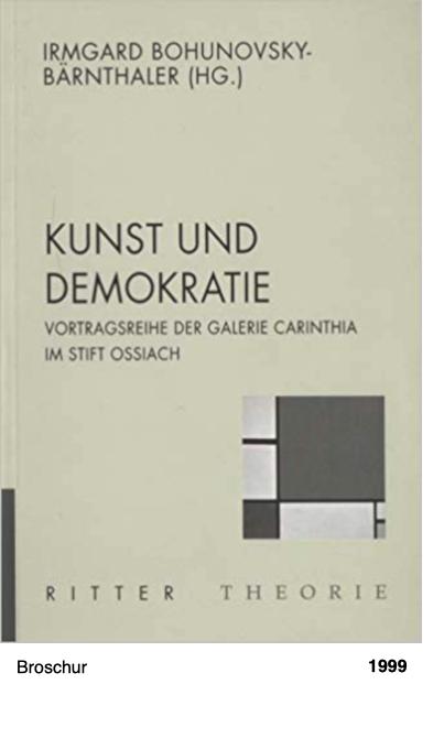 Kunst und Demokratie - Vortragsreihe der Galerie Carinthia im Stift Ossiach