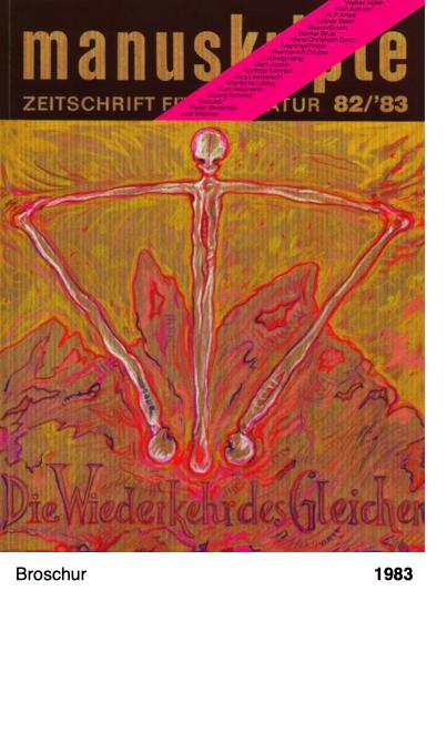 manuskripte - Zeitschrift für Literatur 82 - Peter Sloterdijk