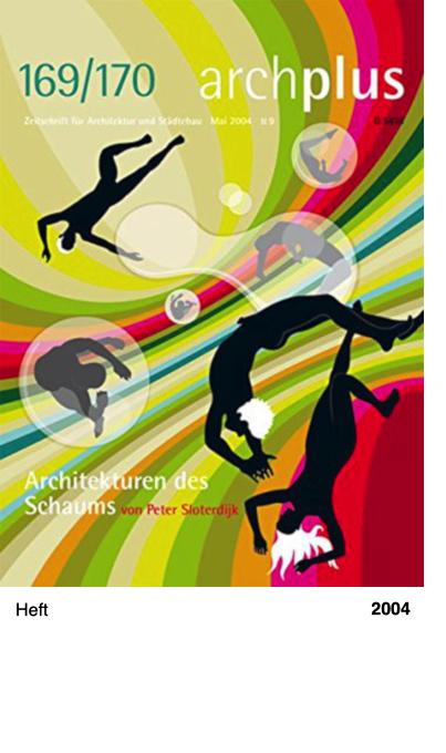 169/170 archplus - Zeitschrift für Architektur und Städtebau 2004