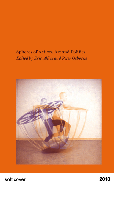 Spheres of Action - Art and Politics