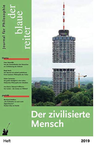 Der Blaue Reiter. Journal für Philosophie, Der zivilisierte Mensch