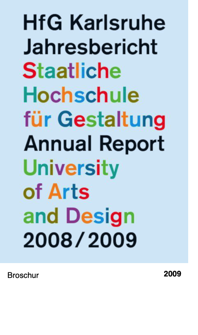 Jahresbericht 2008-2009
