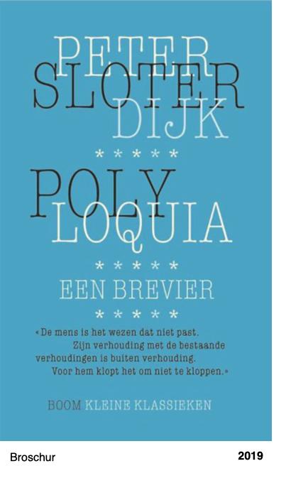 Polyloquia - een brevier - Peter Sloterdijk - Peter Sloterdijk