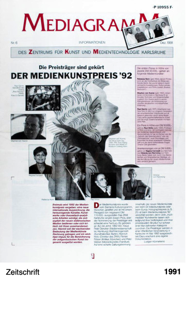 Mediagramm Nr. 6 - ZKM Karlsruhe