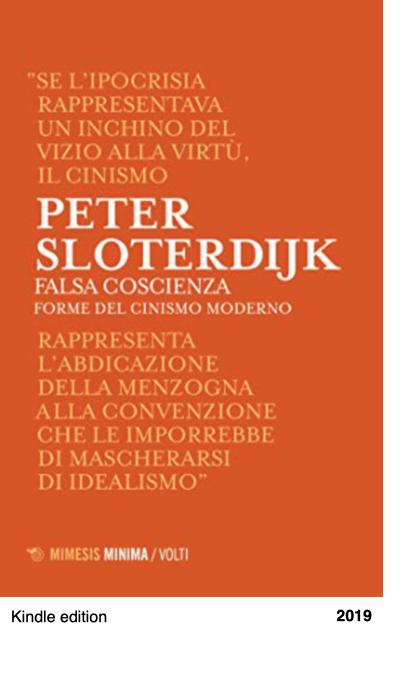 Falsa coscienza - Forme del cinismo moderno - Peter Sloterdijk
