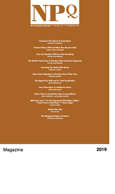 New Perspectives Quarterly (NPQ), Volume 36, Issue 4