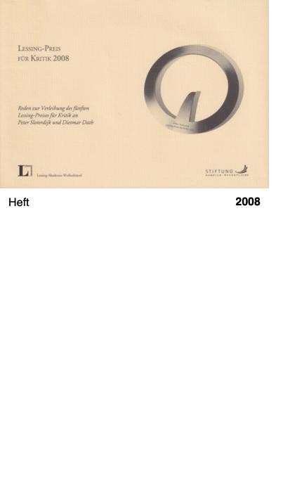 LESSING-Preis 2008