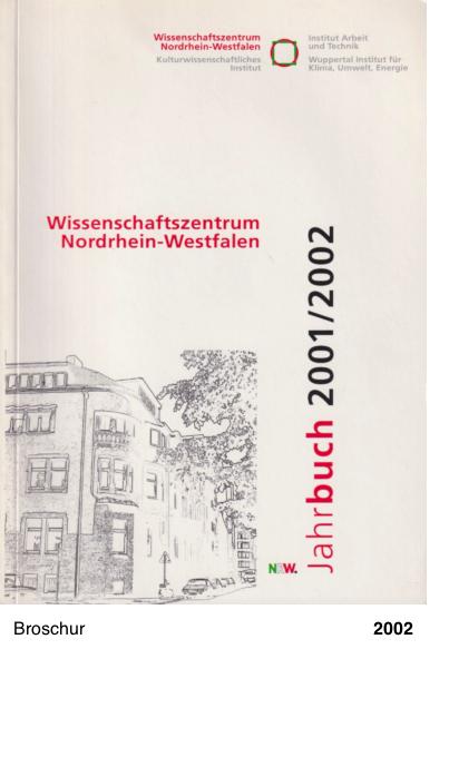 Wissenschaftszentrum NRW 2001-2002